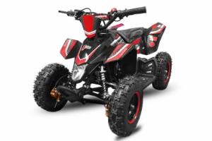 ATV electric Deluxe ECO Maddox 1000W 48V cu 3 Viteze #Rosu0