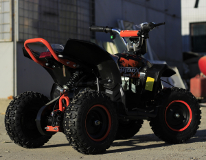 ATV electric Deluxe ECO Maddox 800W 36V cu 3 Viteze #Portocaliu3