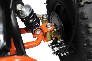 ATV electric Deluxe ECO Maddox 800W 36V cu 3 Viteze #Rosu [1]