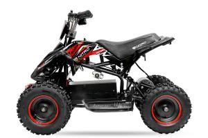 ATV electric NITRO ECO Python 800W 36V cu 3 Viteze #Rosu [4]