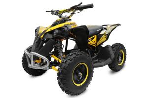 ATV Electric Eco Avenger 1000W 36V cu 3 Trepte de Viteza #Galben [0]