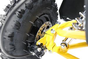 ATV Electric Eco Avenger 1000W 36V cu 3 Trepte de Viteza #Galben [13]