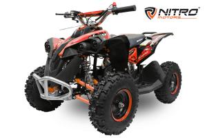 ATV Electric Eco Avenger 1000W 48V cu 3 Trepte de Viteza #Portocaliu [0]