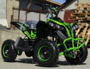 ATV Electric Eco Avenger 1000W 48V cu 3 Trepte de Viteza #Verde1