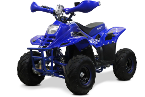 ATV electric ECO Bigfoot 800W 36V cu Baterie Detasabila #Albastru0