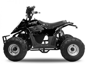 ATV electric ECO Bigfoot 800W 36V cu Baterie Detasabila #Negru1