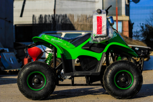 ATV electric ECO Bigfoot 800W 36V cu Baterie Detasabila #Verde6