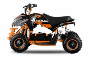 ATV electric ECO Jumpy 800W 36V cu 3 Viteze #Orange0