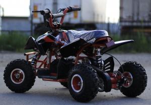 ATV electric ECO Jumpy 800W 36V cu 3 Viteze #Orange4