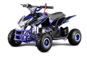 ATV electric ECO Jumpy 800W 36V cu 3 Viteze #Albastru0