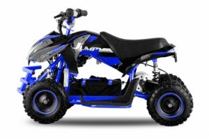 ATV electric ECO Jumpy 800W 36V cu 3 Viteze #Albastru1