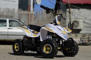 ATV electric ECO Maddox 800W 36V cu 3 Viteze #Galben3