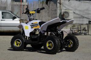 ATV electric ECO Maddox 800W 36V cu 3 Viteze #Galben7