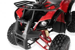 ATV electric Eco Toronto 1000W 48V 20Ah #Rosu3