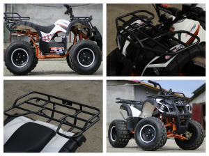 ATV electric Eco Toronto 1000W 48V 20Ah cu DIFERENTIAL #Alb9