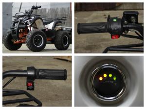 ATV electric Eco Toronto 1000W 48V 20Ah cu DIFERENTIAL #Alb8