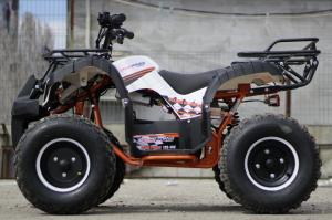 ATV electric Eco Toronto 1000W 48V 20Ah cu DIFERENTIAL #Alb2