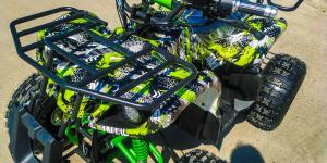 ATV electric Eco Toronto 1000W 48V 20Ah #Verde Camuflaj2