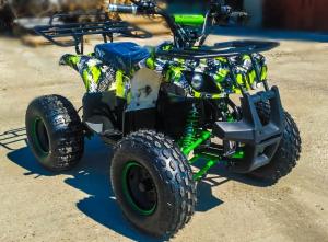 ATV electric Eco Toronto 1000W 48V 20Ah #Verde Camuflaj6