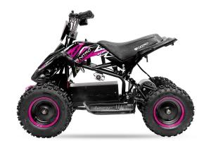 ATV electric NITRO ECO Python 800W 36V cu 3 Viteze #Roz0