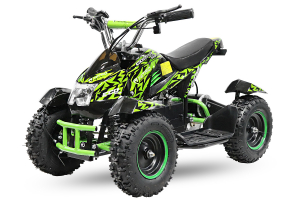 ATV electric NITRO ECO Cobra 800W 36V cu 3 Viteze #Verde [0]
