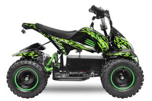 ATV electric NITRO ECO Cobra 800W 36V cu 3 Viteze #Verde [3]