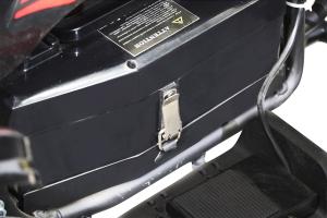 ATV electric NITRO ECO Python 1000W 48V DELUXE #Portocaliu6