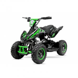 ATV electric NITRO ECO Python 800W 36V cu 3 Viteze #Verde0