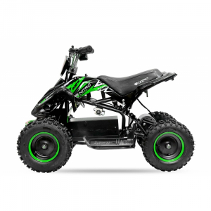 ATV electric NITRO ECO Python 800W 36V cu 3 Viteze #Verde4