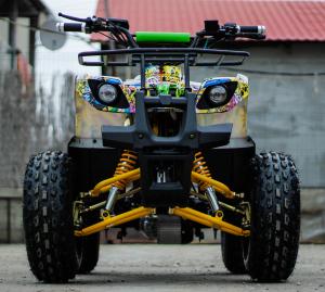 ATV electric NITRO Eco Toronto 1000W 48V 20Ah cu DIFERENTIAL #Galben8