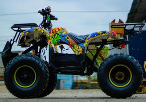 ATV electric NITRO Eco Toronto 1000W 48V 20Ah cu DIFERENTIAL #Galben3