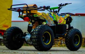 ATV electric NITRO Eco Toronto 1000W 48V 20Ah cu DIFERENTIAL #Galben5