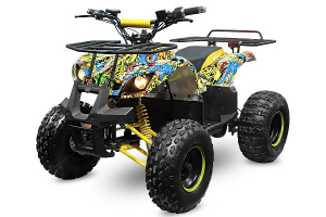 ATV electric NITRO Eco Toronto 1000W 48V 20Ah cu DIFERENTIAL #Galben0