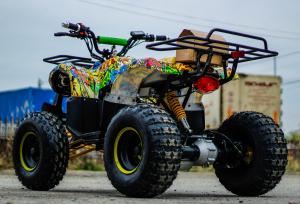 ATV electric NITRO Eco Toronto 1000W 48V 20Ah cu DIFERENTIAL #Galben2