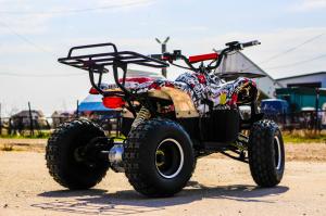 ATV electric NITRO Eco Toronto 1000W 48V 20Ah cu DIFERENTIAL #Alb [12]