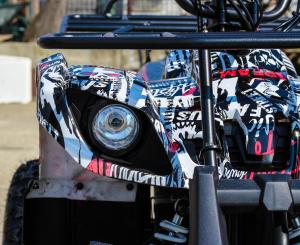 ATV electric NITRO Eco Toronto 1000W 48V 20Ah cu DIFERENTIAL #Alb [1]