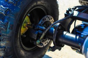 ATV electric NITRO Eco Toronto 1000W 48V 20Ah cu DIFERENTIAL #Alb [21]