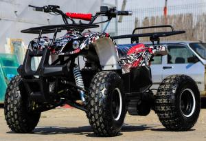 ATV electric NITRO Eco Toronto 1000W 48V 20Ah cu DIFERENTIAL #Alb [9]