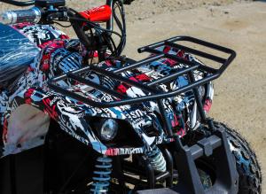 ATV electric NITRO Eco Toronto 1000W 48V 20Ah cu DIFERENTIAL #Alb [2]