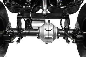 ATV electric NITRO Eco Warrior 1000W 48V 20Ah cu DIFERENTIAL #Orange3