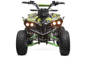 ATV electric NITRO Eco Warrior 1000W 48V 20Ah cu DIFERENTIAL #Verde Grafiti [2]
