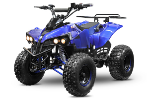 ATV electric NITRO Eco Warrior 1000W 48V 20Ah cu DIFERENTIAL #Albastru0