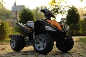 ATV electric pentru copii BJ007 90W 12V STANDARD #Negru7