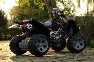 ATV electric pentru copii BJ007 90W 12V STANDARD #Negru5