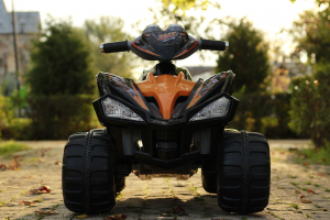 ATV electric pentru copii BJ007 90W 12V STANDARD #Negru2