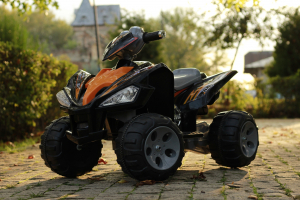 ATV electric pentru copii BJ007 90W 12V STANDARD #Negru1