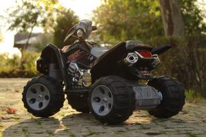 ATV electric pentru copii BJ007 90W 12V STANDARD #Negru3