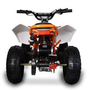 ATV electric pentru copii KXD Maddox M1 800W 36V #Portocaliu5