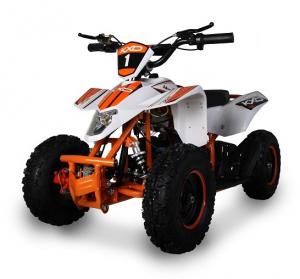 ATV electric pentru copii KXD Maddox M1 800W 36V #Portocaliu2