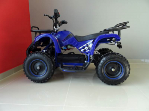 ATV electric pentru copii KXD Torino M5 800W 36V #Albastru7